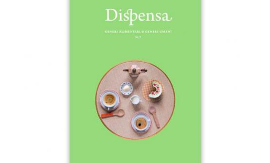 La copertina del numero 7 di Dispensa, il magazine di generi alimentari e generi umani Martina Liveranidedicato all'unverso dei bambini. Il volume costa 21 euro e si può ordinare online sudispensamagazine.com