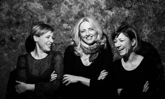 Le tre cugine Cotarella: Enrica, Dominga e Marta