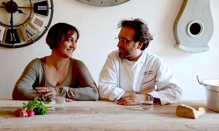 Vallini con la moglieOrnella Cazzola