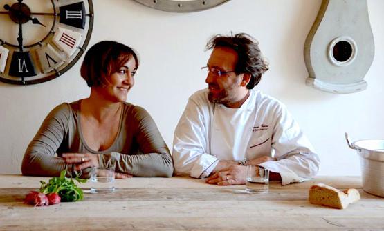 Vallini con la moglie Ornella Cazzola, sua compagna nella vita e nel lavoro