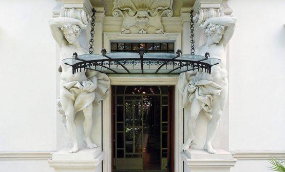 L'entrata del Villa Laetitia