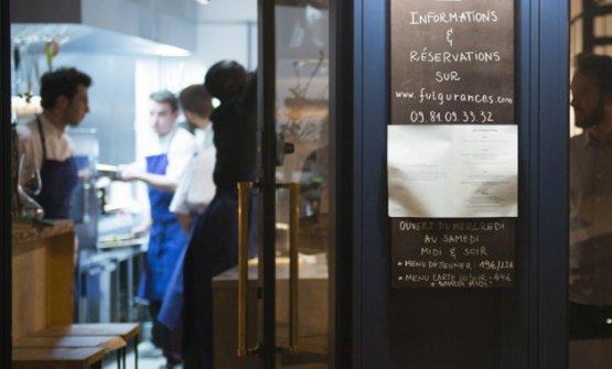 L'Address di Fulgurances,indirizzo 10 rue Alexandre Dumas, 11°arrondissement diParigi, telefono +33.(0)1.43481459, è chiuso da sabato a lunedì. Menu degustazione: 19 e 24 euro a pranzo, 46 e 58 la sera