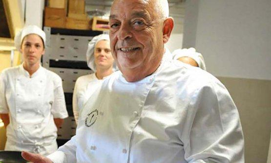 Mauro Ricciardi, colonna della cucina ligure d'autore, oggi ad Ameglia (La Spezia)
