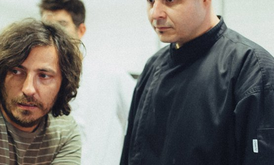 Gregor Vracko (a sinistra) con il sous chef Matevz Bozic