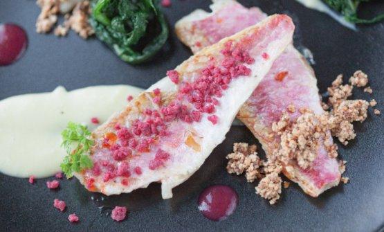 Una delle proposte diGennaro Di Pace, chef dell'Osteria Porta del Vaglioa Saracena (Cosenza), Il Pollino nel piatto