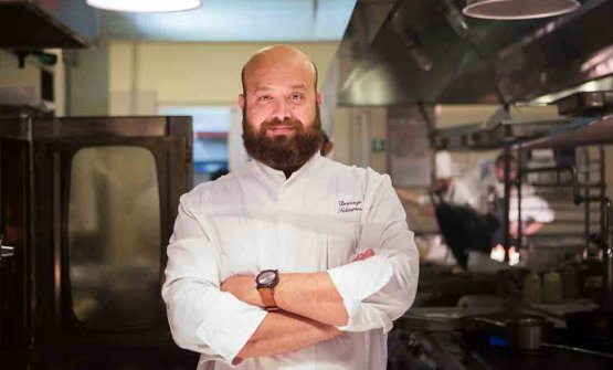 Domingo Schingaro, born in 1980, is chef at  Due