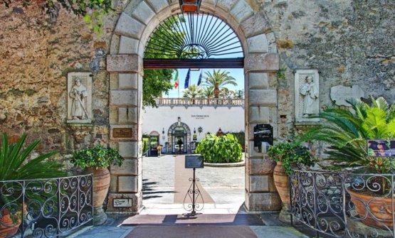 L'entrata delPrincipe Cerami del San Domenico Palace