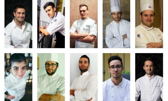 Ecco i volti dei dieci migliori giovani chef partecipanti alla nuova edizione delPremio Birra Moretti Grand Cru: la finale si terrà il prossimo 6 novembre.Vota qui