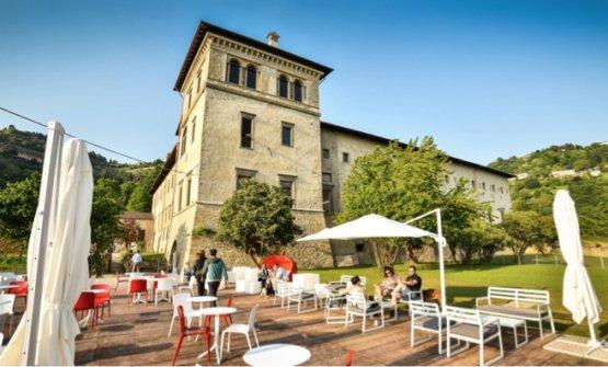 Il monastero di Astino, appena fuori Bergamo