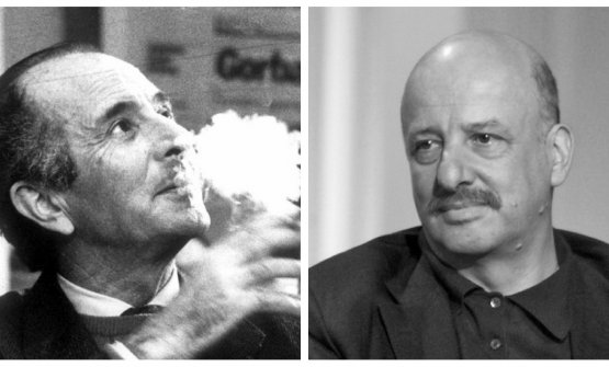 Valentino Parlato and Stefano Bonilli