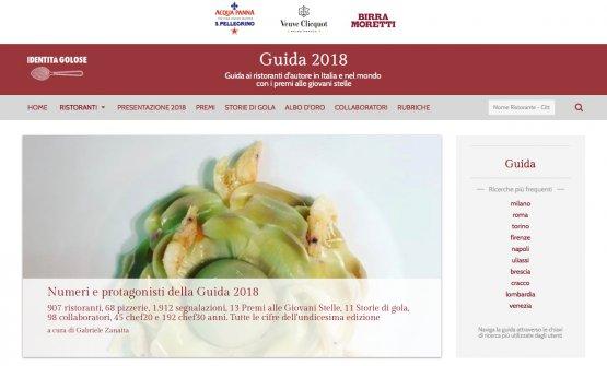E' online da oggi l'undicesima Guida ai ristoranti d'Italia, Europa e Mondo di Identità Golose: 907 ristoranti, 835 Chef consiglia e170 altri indirizzi da 11Storie di Gola.13 iPremi alle Giovani stelle