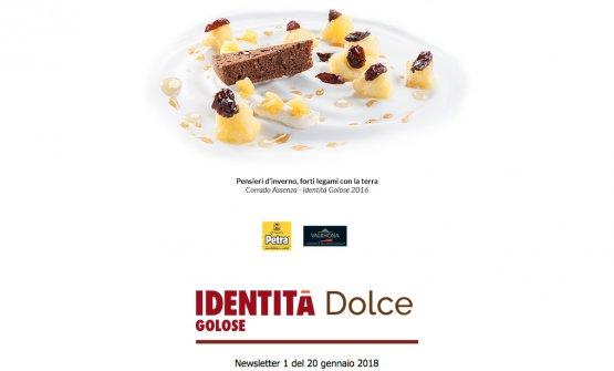 Il logo di Identità Dolce, la nuova newsletter di