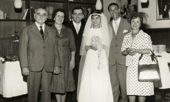 Il matrimonio di Marchesi con Antonietta Cassisa