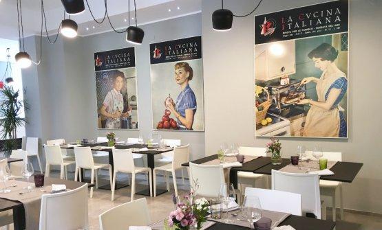 I nuovi locali di La Scuola de La Cucina Italiana, in piazza Cadorna a Milano