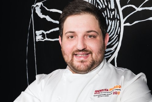Cristoforo Trapani, chef napoletano delLa Magnol