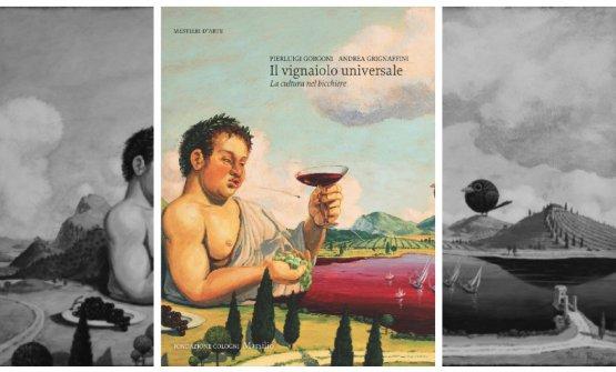 La copertina del libro, tratta dall'illustrazione Il mondo di Bacco, di Paolo Rui