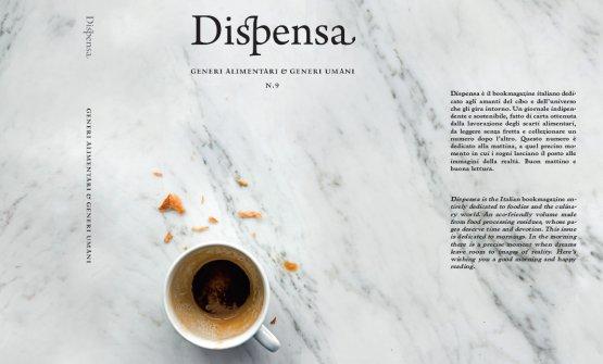 La copertina (allargata) di Dispensa numero 9, il fortunato magazine di Martina Liverani, acquistabile online a 21 euro (foto di Stefano Scatà)