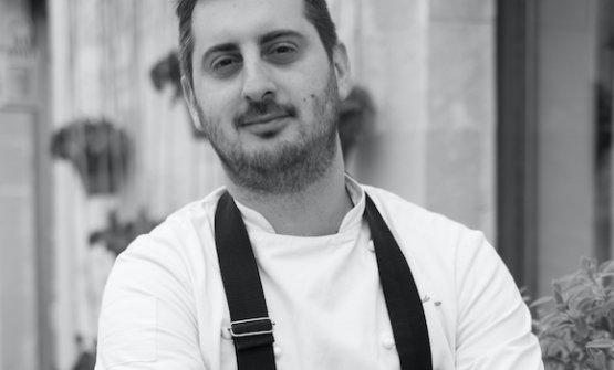 Alfredo De Luca, chef di Origano a Minervino di Lecce