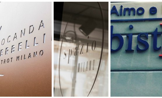 Tre casi dibrand extension:Locanda Perbellini, SpazioeBistro Aimo e Nadia