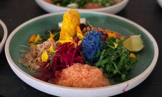 Khao Yum per colazione (foto themadfeed/Instagram)