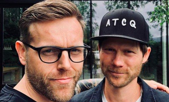 Søren Ørbek Ledet e Rasmus Kofoed, la sala e la cucina di Geranium (foto Instagram)