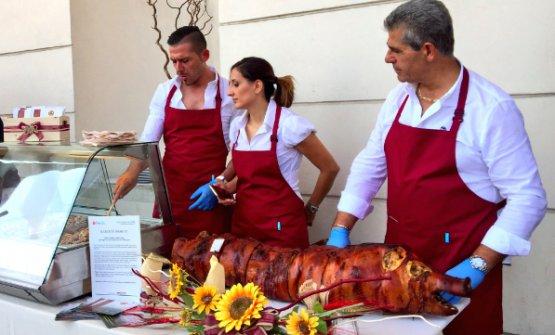I ragazzi della Porchetta di Grutti in Umbria