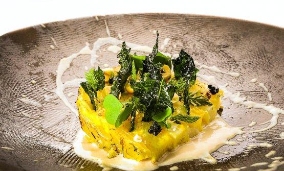 Cavolo, Toma delle Viole, nocciole e caviale di tartufo nero: la ricetta dell'autunno di Igor Macchia
