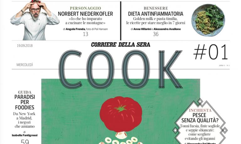 In edicola mercoledì 19 Cook, il nuovo supplemento gratuito del Corriere della Sera