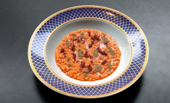Risotto alla Cacciatora: il piatto dell'autunno di Francesco Vincenzi. Tutte le foto sono di Paolo Terzi