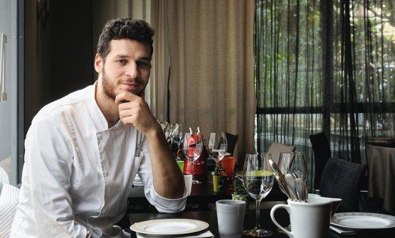 Il nuovo chef Francesco Vincenzi