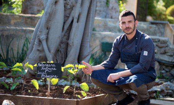 Carmelo Trentacosti, classe 1976, è chef alCuv�