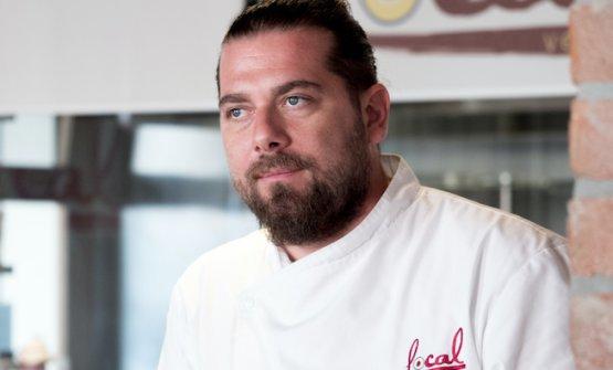 Lo chef Matteo Tagliapietra