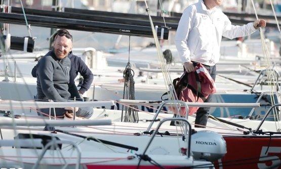 Ma la regata, la vince sempre lui, Alfio Ghezzi