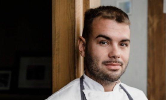 Samuele Maio, chef diSalvo Ristorante Cacciatori