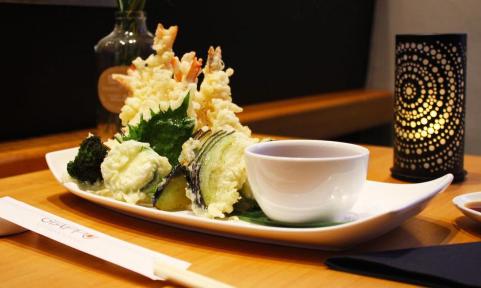 Il tempura del ristorante Giappo a Pescara (fotogiappo.eu)