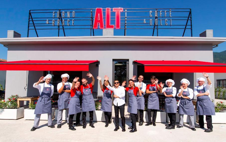 """ALT, la """"stazione di servizio""""di Niko Romito a Castel di Sangro"""