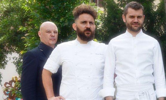I due in bianco sono Donato Ascani ed Enrico Bartolini