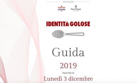 TheGuida Identità Golose 2019is available onl