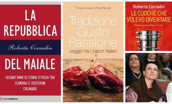 Alcuni dei libri di Roberta Corradin
