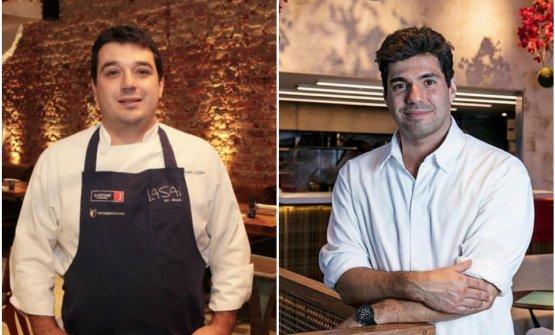 Rafa Silva e CostadelLasaie Felipe Bronze dell'Oro: sono gli chef delle due maggiori insegne gourmet di Rio de Janeiro