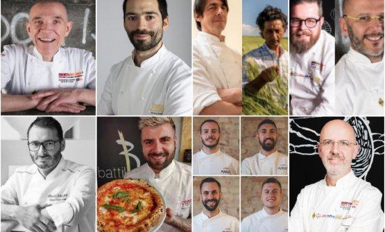 I realtori di Identità di Pane e di Pizza 2019. D