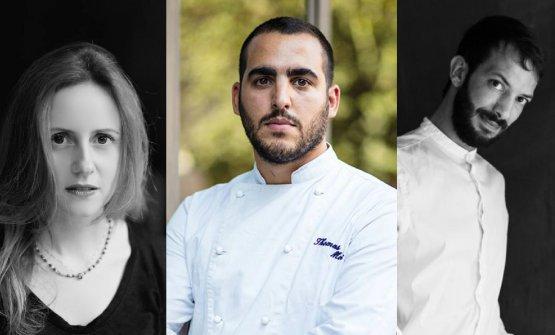Thomas MoitraMichela UlpianieAlessandro Grillo. Sono i tre che animano la proposta del nuovo ristoranteMoia Roma