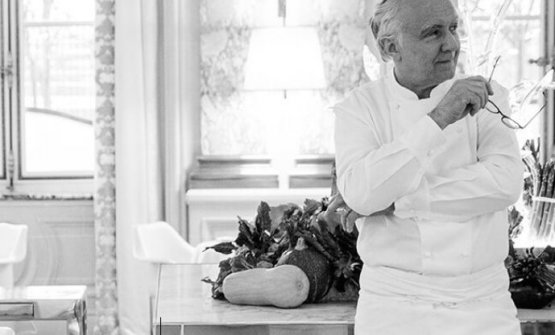 Alain Ducasse, 62. At Identità Milano on Sunday 2