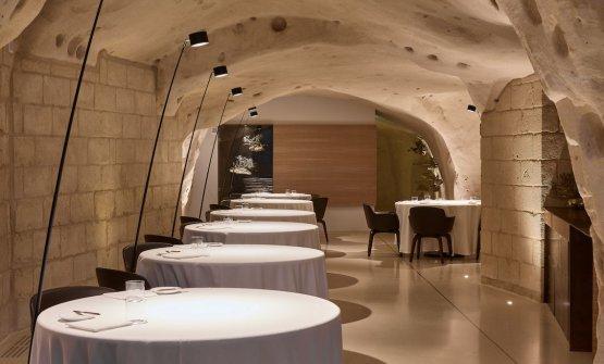 La sala del ristorante Vitantonio Lombardo(foto diMarco Varoli)