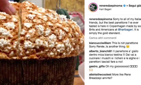 """""""Mi perdonino gli amici italiani"""", ha scritto Rene Redzepi su Instagram il 10 dicembre scorso, """"ma il miglior panettone che abbia mai assaggiato lo fanno qui, a Copenhagen, dei ragazzi britannici e americani alla@hartbageri. Semplicemente, il massimo dello standard"""""""