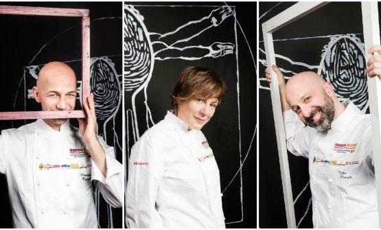 Riccardo Camanini, Antonia Klugmann e Niko Romito: