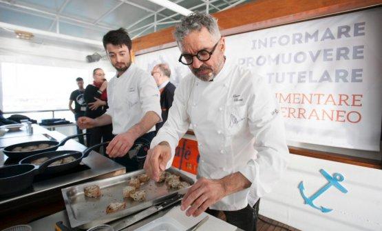 Mauro Uliassi al Mediterranean Cooking Congress 20