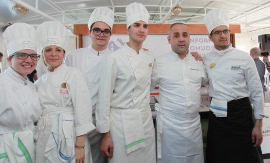 Foto di gruppo con Vincenzo Guarino
