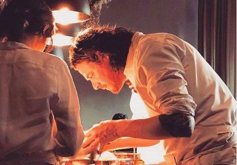 Kobe Desramaults, cuoco belga, alla fine del 2016