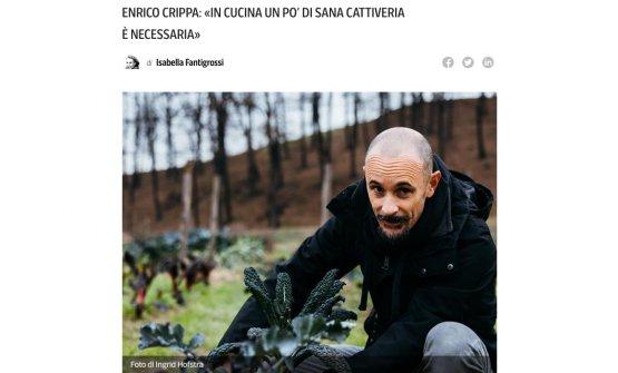 L'articolo del Corriere della Sera, a firma Isabella Fantigrossi